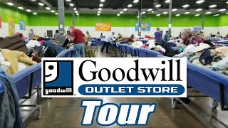 Tour of the Goodwill Outlet - Online Reselling - I show you the entire store and how to shop in it.