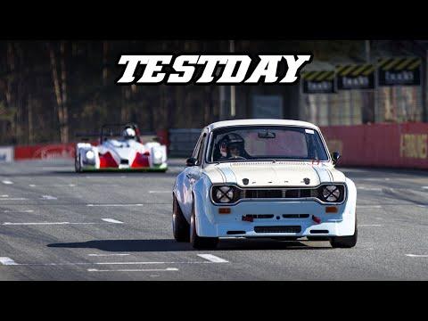 Huracan ST evo, Escort mk1, RXC, Vantage GT4, 991 cup, Nascar,  - Testday Zolder 2019-03-2)