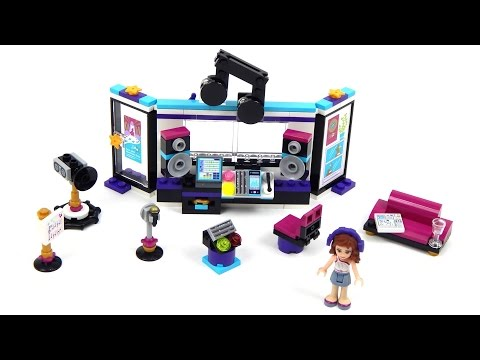 Vidéo LEGO Friends 41103 : Le studio d'enregistrement
