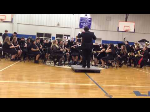 My current band performing at our 2016 Christmas concert