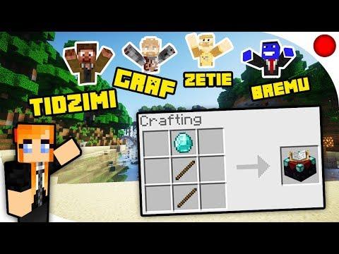 JAK TO SIĘ CRAFTUJE?! | Minecraft Strumykowo [Zapis LIVE]