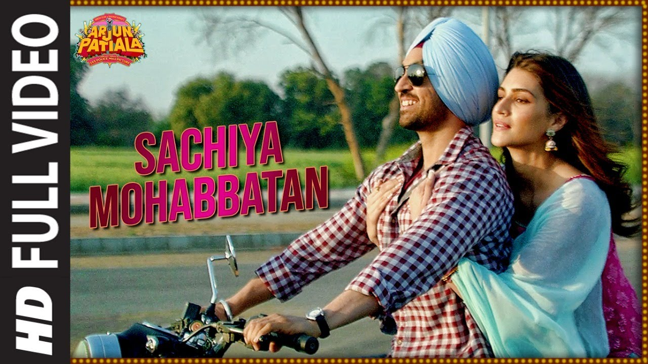 Sachiya Mohabbatan Hindi lyrics