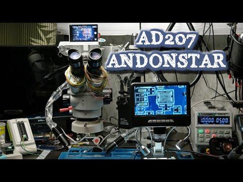Оптический или цифровой ? Обзор микроскопа AD 207 Andonstar