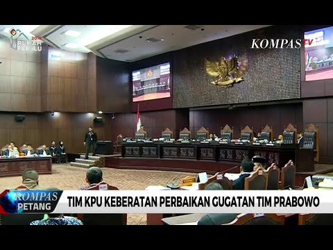 KPU Keberatan Soal Revisi Gugatan Tim Prabowo-Sandi