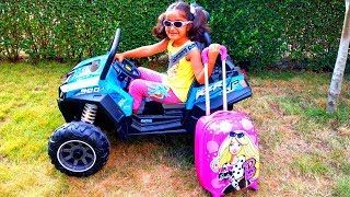 Esma go on holiday Pretend play with for kids video