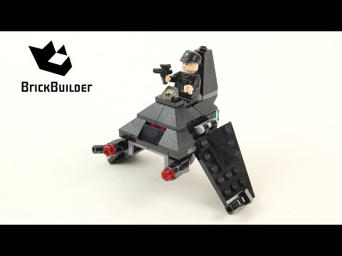 Vidéo LEGO Star Wars 75163 : Microvaisseau Imperial Shuttle de Krennic
