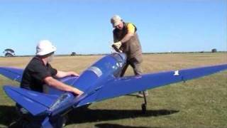 RC Bugatti Airplane Test Flight