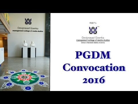 Deviprasad Goenka Management College Of Media Studies video cover1