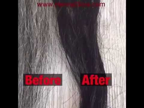 , title : 'DIY | Dye Gray Hair Black Naturally - Henna + Indigo Step By Step'