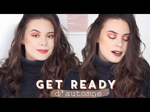 GET READY D'AUTOMNE make up lumineux