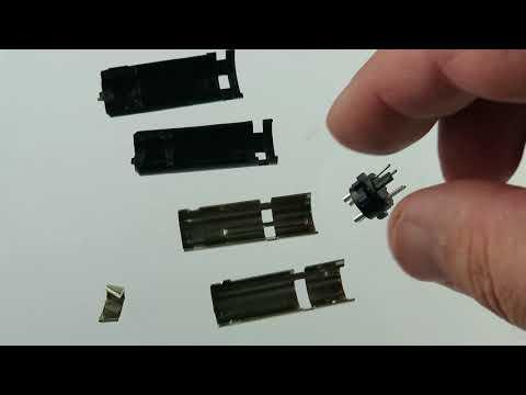 G22588 - 4 Pin Mini-DIN Male Inline Plug Connector