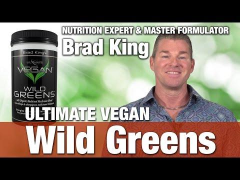 Preferred Nutrition Ultimate Vegan Wild Greens with Nutrition Expert & Master Formulator Brad King