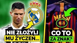 Ronaldo nie dostał ŻYCZEŃ URODZINOWYCH od Realu... SPECJALNE Koszulki Barcelony na mecz z REALEM!