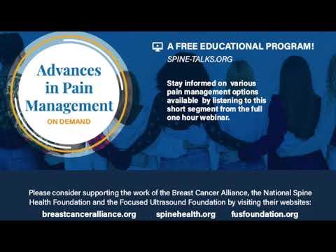 Advances in Pain Management: Regenerative Medicine