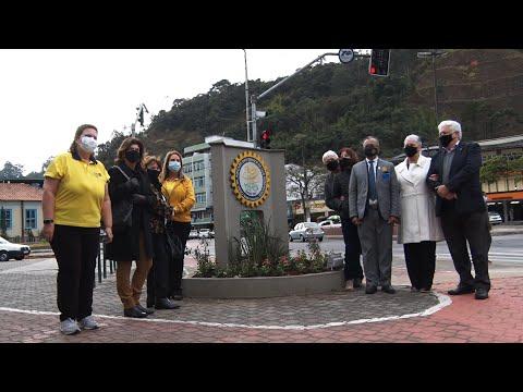 Nova Friburgo recebe a visita do governador do Rotary
