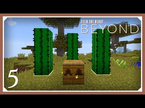 FTB Beyond - 08 - BEE GENETICS - смотреть онлайн на Hah Life