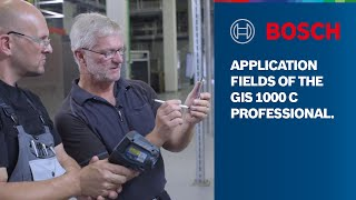 Bosch Thermo Detector GIS 1000 C Professional—Measure temperatures and humidity with precision
