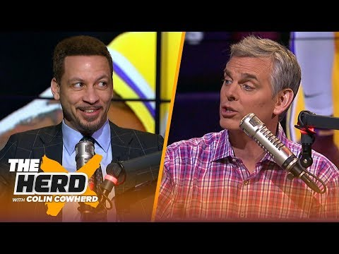 Chris Broussard on players more trade-worthy than LeBron, says Zion's upside is 'special' | THE HERD