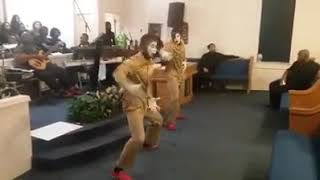"Anointed and Appointed Mimes - ""Rain On Us"" by Sha Simpson Mime Dance"