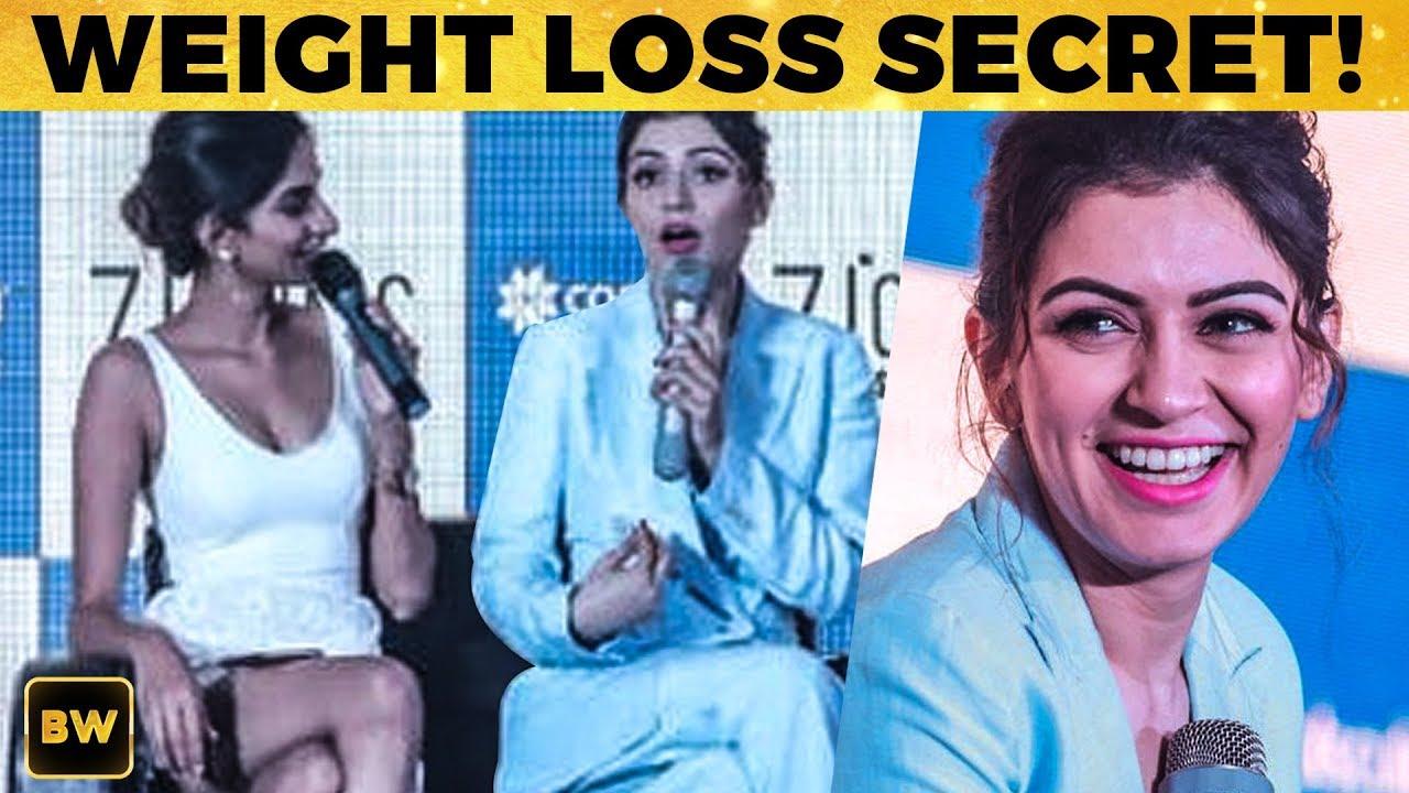 Hansika Reveals Her Weight Loss Secret!
