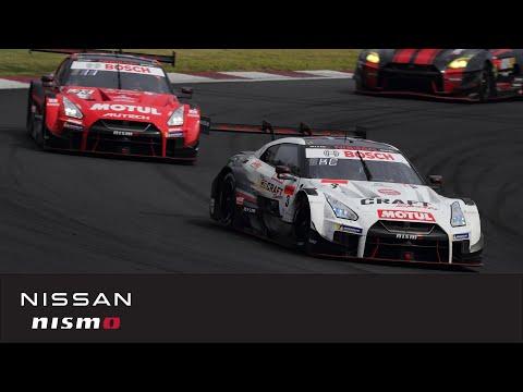 スーパーGT 第2戦 富士スピードウェイ 日産GT-R勢の決勝レースダイジェスト動画