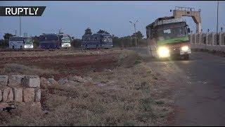 Жителей Фуа и Кефрая успешно эвакуировали в подконтрольные правительству районы Сирии