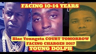Blac Youngsta COURT Facing 10 To 14 Years For 2017 Young Dolph Incident This Week