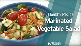 Recipe: Marinated Vegetable Salad