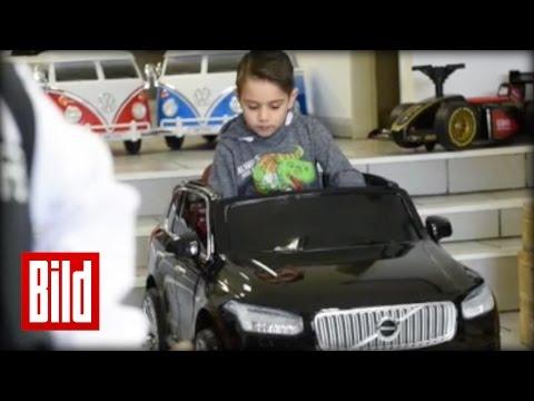 Erstes Autohaus für Kids: Audi, Mercedes, BMW – Autos für die Kleinen