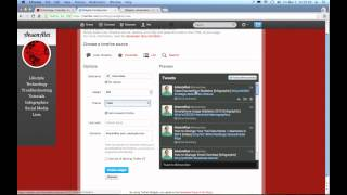 How to Embed a Twitter Feed in a Website 2013