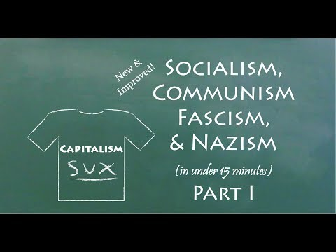 Download Understand Socialism, Communism, Fascism, & Nazism in 15 Minutes (Part I) Mp4 HD Video and MP3