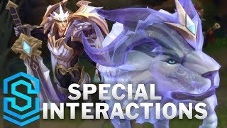 God-King Garen Special Interactions