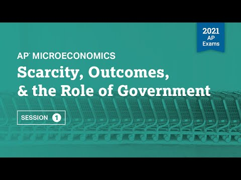 Scarcity, Outcomes, & the Role of Government | AP Microeconomics