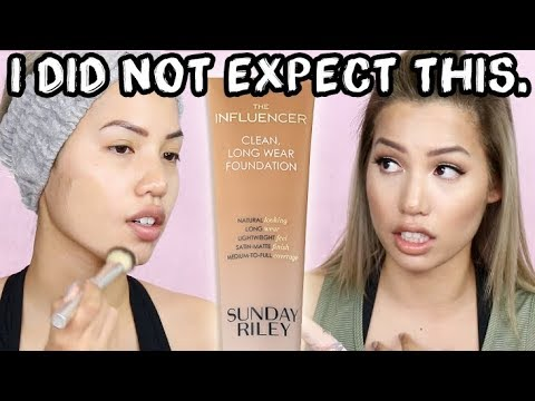 "NEW | SUNDAY RILEY ""THE INFLUENCER"" LONGWEAR FOUNDATION 