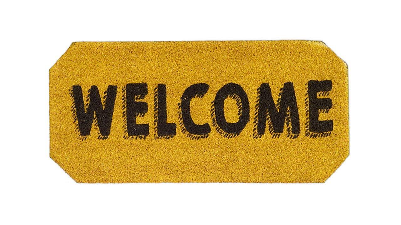 Video von: Fußmatte Welcome verschiedene Farben