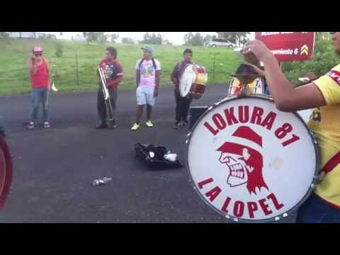 """locura 81 vs leon"" Barra: Locura 81 • Club: Monarcas Morelia"