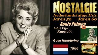 Annie Palmen   Wat Fijn Kapitein 1960