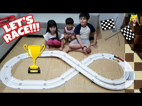 Super Race Track - Super Cars Run On Saltwater!