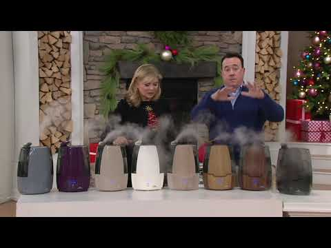 Air Innovations Clean Mist Humidifier with Sensa Touch and Aroma Tray on QVC