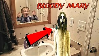 Bloody Mary Challenge Gone Wrong *OMG HELP* Im Trapped Inside The Mirror!!!*