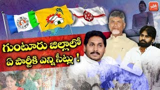 Guntur District Political Analysis | AP Election Results 2019 | Janasena | YSRCP | TDP | YOYO TV