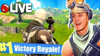 Epic Squad Victory Royales LIVE! (Fortnite Battle Royale)