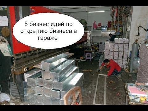 5 бизнес идей по открытию бизнеса в гараже