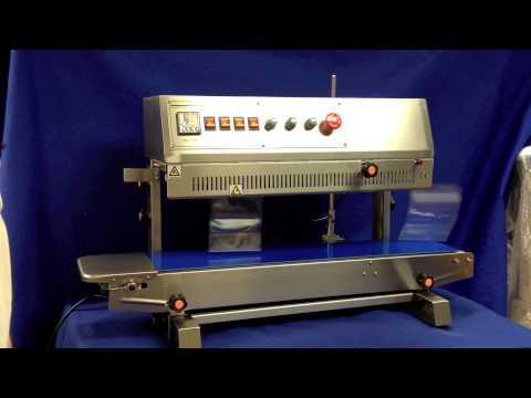 Sealer Sales HL-M810II Vertical Dry Ink Coding Band Sealer - HL-M810II Vertical Dry Ink Coding Band Sealer - sold by Sealer Sales