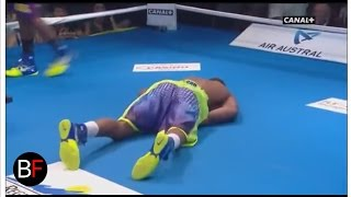 Hassan N'Dam vs Alfonso Blanco Knockout (round 1)