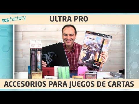 Top accesorios para juegos de cartas / Magic the Gathering - Ultra Pro