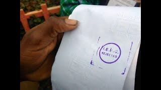 Is there need for verification of the NASA alleged, tampered ballot boxes and ballot papers?