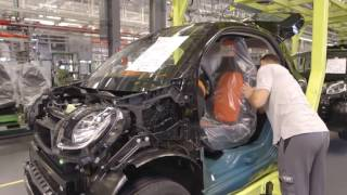 How It's Made: One of Smallest Car in The World: Smart Fortwo