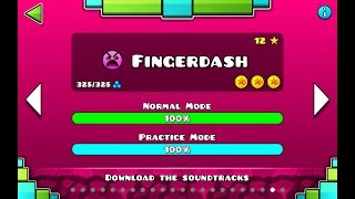 "Geometry Dash | Level 21 ""Fingerdash"" (3 coins)"