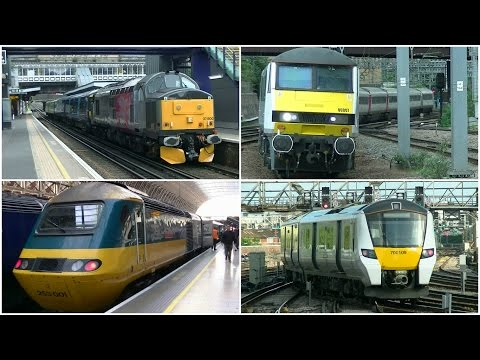 Fantastic railway variety around London 13th May 2017